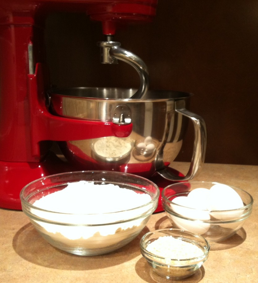 Stand Mixer Challah Dough