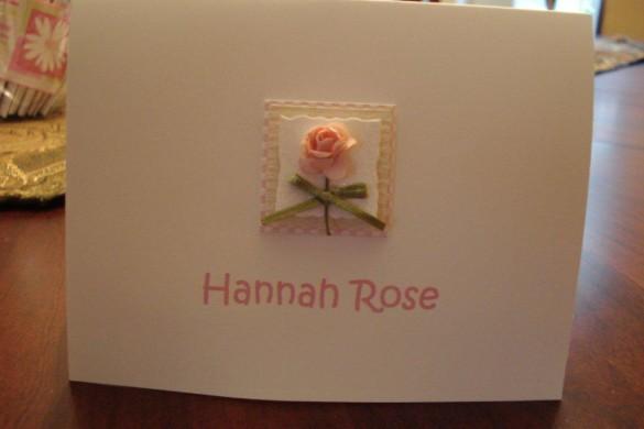 Hannah note 1
