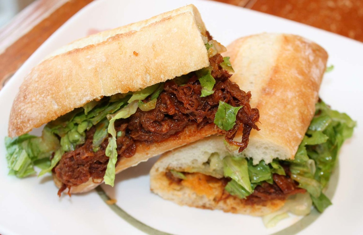 Pulled Beef Sandwich