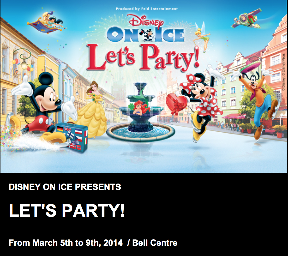 giveaway disney on ice tickets for a family of 5. Black Bedroom Furniture Sets. Home Design Ideas