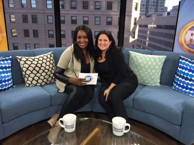 Tanya Toledano and Joanne Vrakas Breakfast Television Montreal