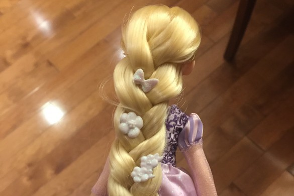 Royal Shimmer Rapunzel - Hairdo