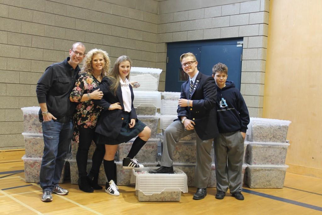 Jonah Hoppenheim donates 1.5 million tabs