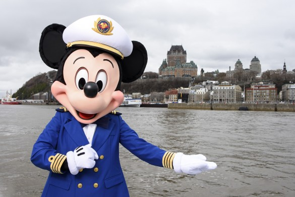 Starting fall 2018, the Disney Magic will sail between New York and Quebec City, Canada, a new port for Disney Cruise Line. These two seven-night Disney Magic cruises will include stops at breathtaking Canadian ports Saguenay and Baie-Comeau. (Todd Anderson, photographer)