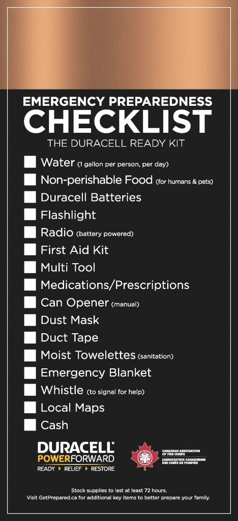 Emergency Preparedness Checklist_The Duracell Ready Kit_Page_1