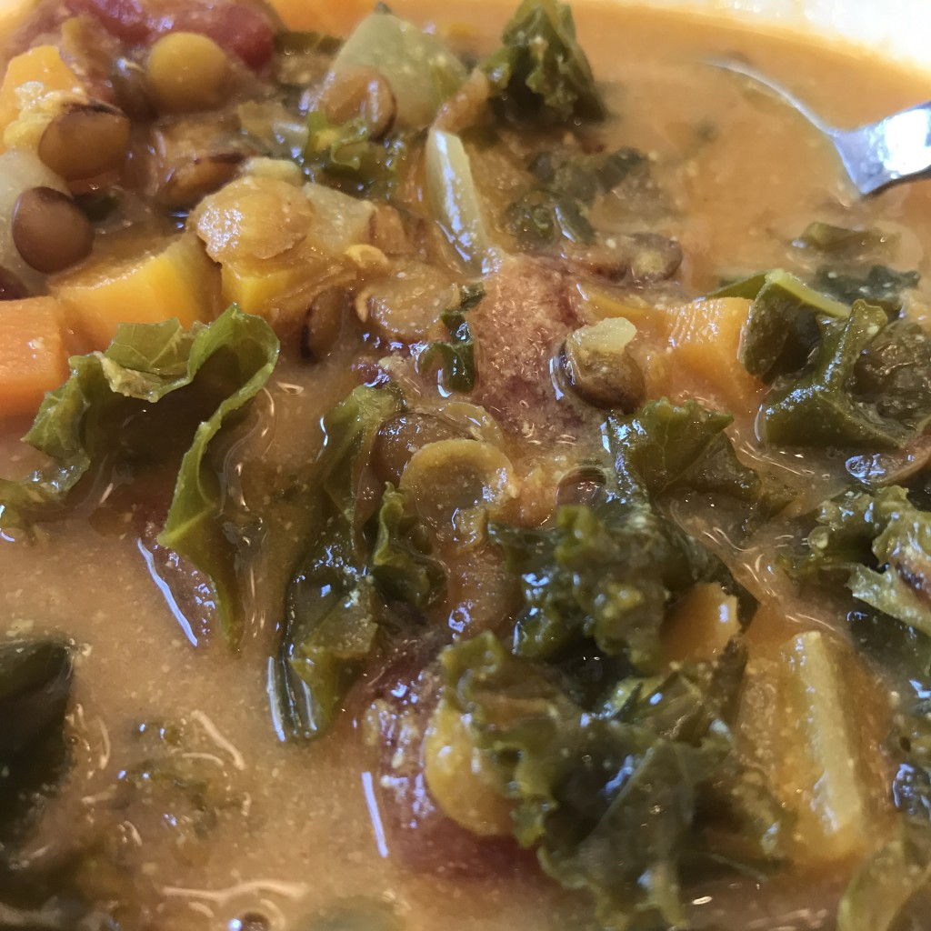 Golden French Lentil Soup