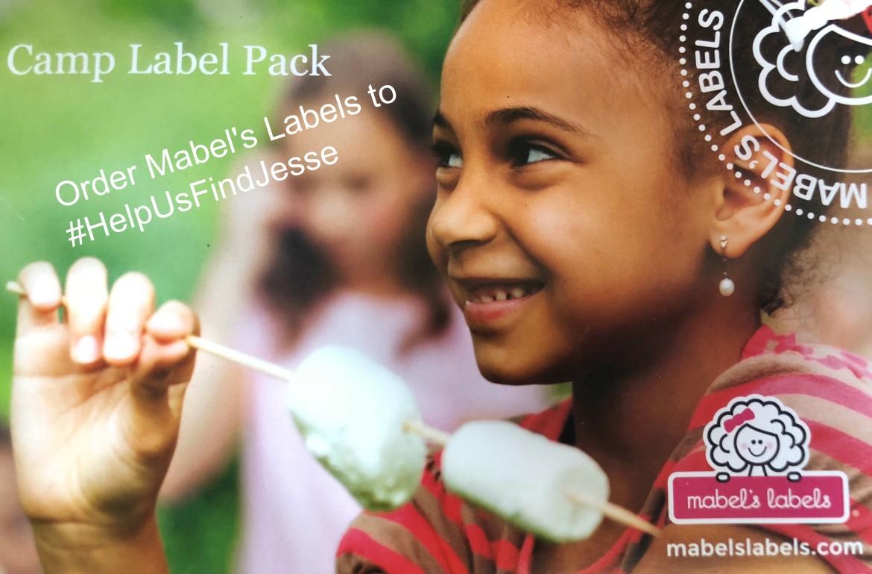 Mabel's Labels #HelpUsFindJesse
