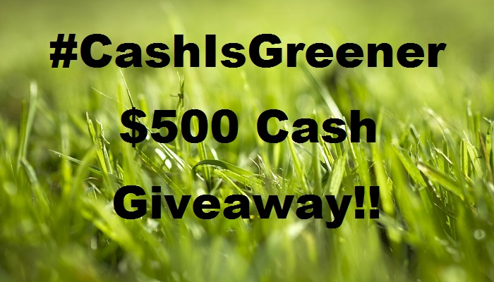 #cashisgreener
