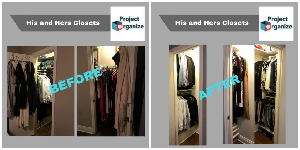 Project Organize closets